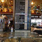 Mostrador menu desayuno cafeteria longares san blas madrid