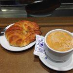 Café y croissant la mallorquina puerta del sol