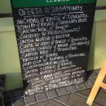 Carta desayunos Larreta desayunar en madrid