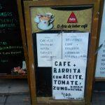 Carta desayunos cea27 desayunar en madrid