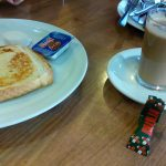 Desayuno 2 café con tostada Scalini desayunar en Madrid
