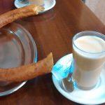 Desayuno Café con Porras Elice desayunar en vallecas