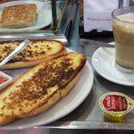 Desayuno Cantespino tostas con tomate desayunar en madrid