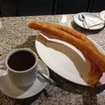 Desayuno Chocolate Porras Cafetería La Cocktelera
