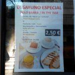 Desayuno Especial Scalini Desayunar en Madrid
