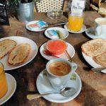 Desayuno Kon Tiki terraza san juan de la cruz desayunar en madrid