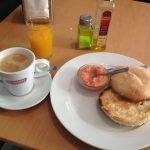 Desayuno Mollete con Tomate Sí Quiero Calle Bravo Murillo Quevedo