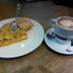 Desayuno Pincho de tortilla Pecaditos alonso martinez madrid