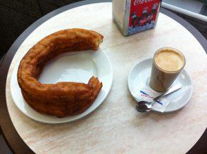 Desayuno Porras Churrería Avenida