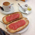 Desayuno Tostada con Tomate Reina Victoria