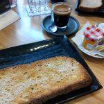 Desayuno Tostadas Mantequilla Mermelada Pez Baker