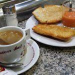 Desayuno Tostadas Tomate El Escudo de Ávila