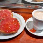 Desayuno Tostadas Tomate León Madrid