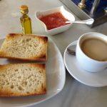 Desayuno Tostadas con Tomate Cas El Artillero del Gourmet