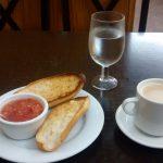 Desayuno Tostadas con Tomate Cervecería Encinas