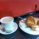 Desayuno café croissant coffebeer cea bermúdez madrid