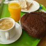 Desayuno café palmera zumo linvg food Aravaca