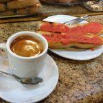 Desayuno cafe tostadas con tomate la alcazaba de almería san blas