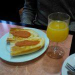 Desayuno cafetería moncloa desayunar en madrid