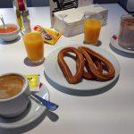 Desayuno con churros El Gurú San Blas