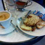 Desayuno croissant La Fornata islas filipinas Madrid