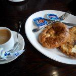 Desayuno croissant la madreña arganzuela madrid