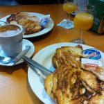 Desayuno croissant plancha El Abuela calle crucero 25 de mayo desayunar en madrid