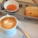 Desayuno pan con tomate Wanda Café maría de molina desayunar en madrid 1
