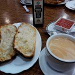 Desayuno tostada con tomate desayuno chamberi madrid