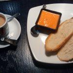 Desayuno tostadas con tomate Barra de Pintxos