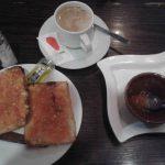Desayuno tostadas con tomate bar época desayunar en madrid