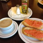 Desayuno tostadas con tomate casa patillas santa engracia desayunar en madrid