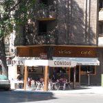 Entrada Cafetería Sirius Bravo Murillo 77