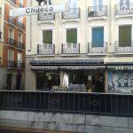 Entrada Cafetería Verdoy Chueca