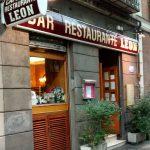 Entrada Desayuno Bar Restaurante León