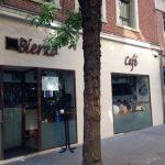 Entrada Desayuno Café Bierzo Rafael Calvo 32 Madrid