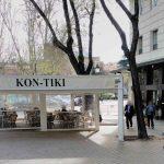 Entrada KonTiki Garden San Juan de la Cruz desayunar en Madrid