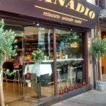 Entrada Restaurante Cañadio Conde de Peñalver