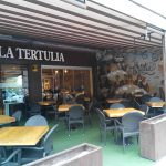 Entrada Terraza Bar La Tertulia Desayuno Paseo de la Habana