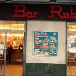 Entrada bar Rubí Calle Castelló 104