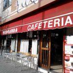 Entrada cafetería Medranda desayuno madrid Chamartín