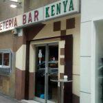 Entrada cafetería bar keny general margallo desayunar en madrid