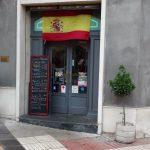 Entrada cafetería chikito Diego de León 20