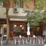 Entrada cafetería miladama madrid chamberí