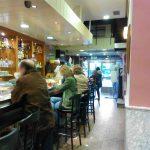 Interior Cafetería Santillana Isaac Peral Desayunar en Madrid