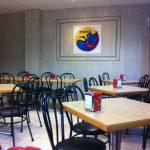 Interior cafetería Fénix