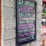 Menú Cafetería La Úrsula