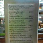 Menú desayunos y precios Gobolem desayunar en madrid san francisco de sales