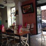 Mesas café Alma Santa Isabel 42
