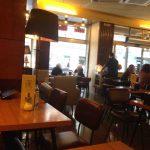 Mesas desayunos cafetería HD guzmán el bueno